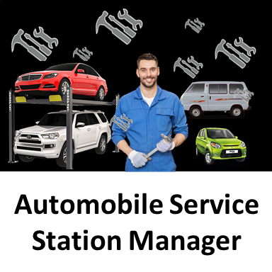 Automobile Service Station Manager