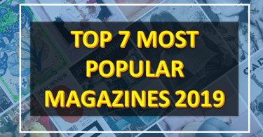 Most Popular Magazines in 2019,Top 7best Magazines of 2019,Good Housekeeping,The Watchower,Game Informer,AARP The Magazine,Readers Digest