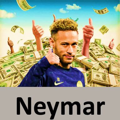 Neymar-net worth $148mln