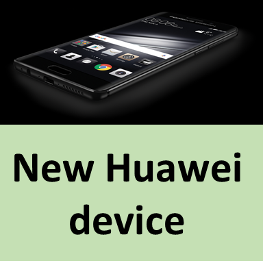 New Huawei device