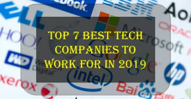 Tech Companies To Work For In 2019,Zoom Video Communications,Procore Technologies, Linkedin Facebook,Google,Salesforce,Hubspot