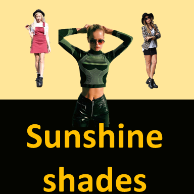 fashion trends,Sunshine shades