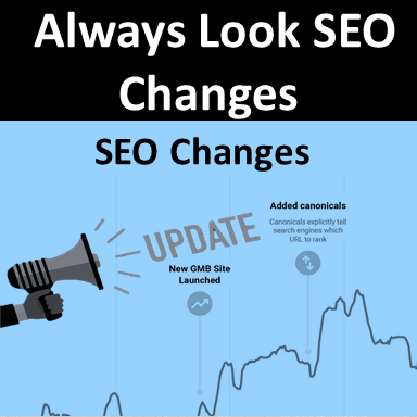 Always Look SEO Changes