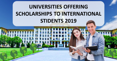 International scholarship 2019, 2020, universities offering fully funded scholarships, DAAD Scholarships 2019, (FEFS) in Germany, ASI scholarships 2019